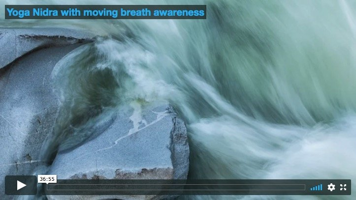 Yoga Nidra with moving breath awareness